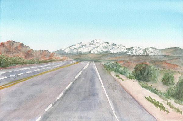 Painting - Big Bear From 29 by Betsy Hackett