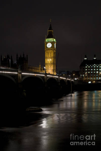 Wall Art - Photograph - Big Ben by Angel Ciesniarska
