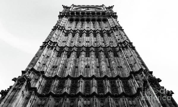 Photograph - Big Ben Gothic Style by Lexa Harpell