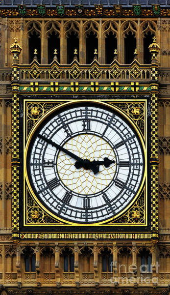 Photograph - Big Ben Portrait by James Brunker