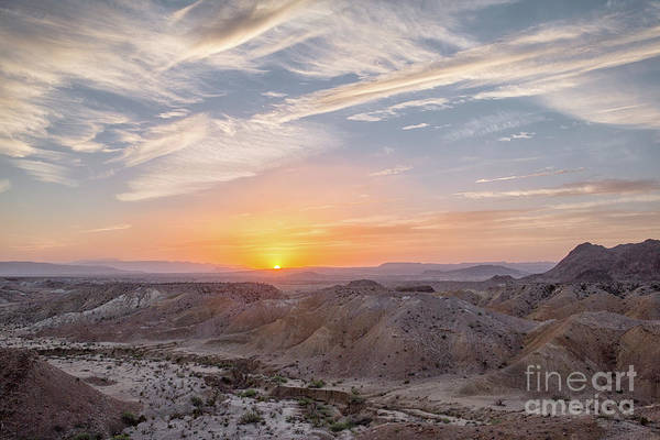 Photograph - Big Bend Cloudy Sunset by Richard Sandford