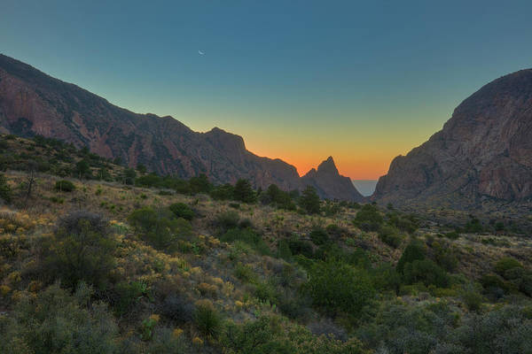 Chisos Mountains Photograph - Big Bend National Park And The Window 1 by Rob Greebon