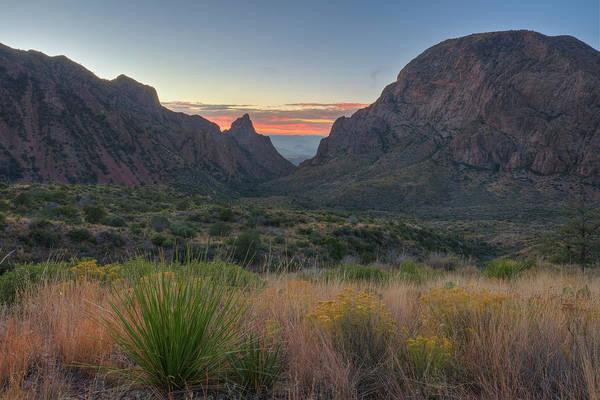 Chisos Mountains Photograph - Big Bend National Park - The Window 1 by Rob Greebon