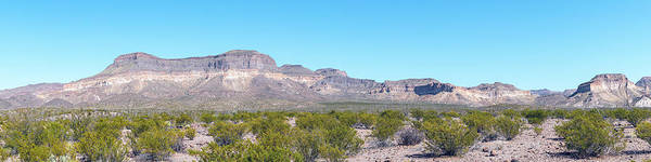 Photograph - Big Bend Ranch State Park Panorama by SR Green