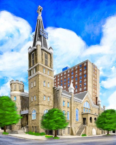 Photograph - Big Bethel In Sweet Auburn - Atlanta by Mark E Tisdale