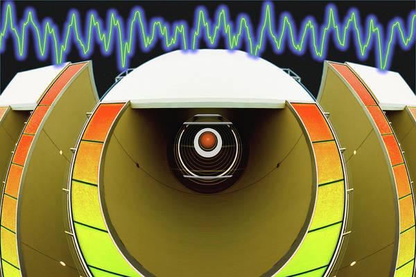 Digital Art - Big Boom Box by Wendy J St Christopher