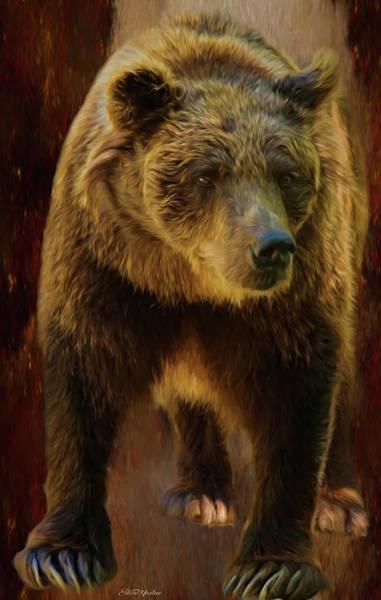 Painting - Big Brown Bear - Painting by Ericamaxine Price