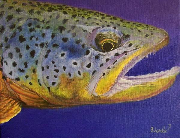 Big Brown Art Print by Bill Werle