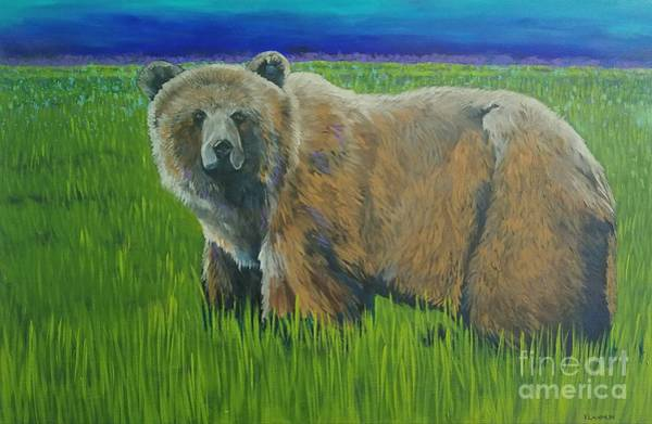 Painting - Big Brown by Kathy Laughlin