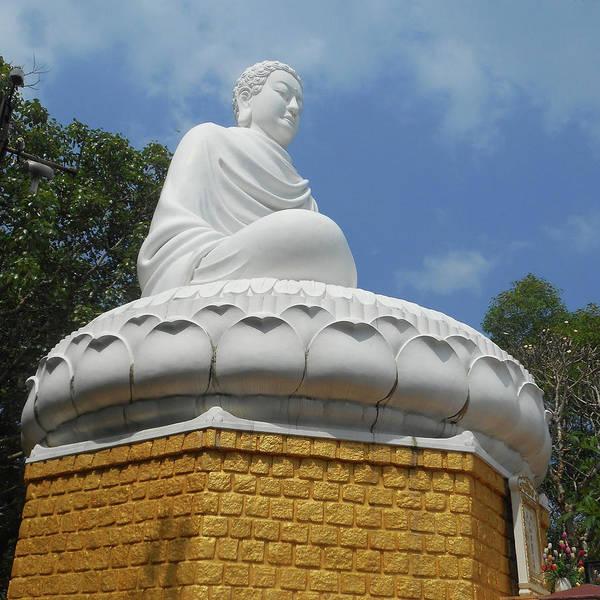 Vung Tau Photograph - Big Buddha 2 by Ron Kandt