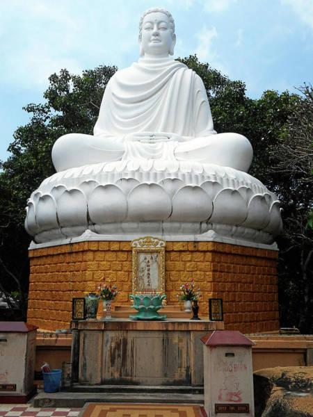 Vung Tau Photograph - Big Buddha 3 by Ron Kandt