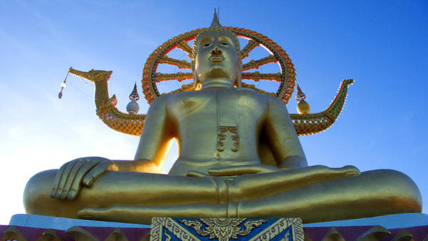 Photograph - Big Buddha At Koh Samui by Charlene Mitchell
