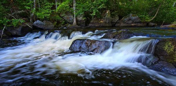 Wall Art - Photograph - Big Bull Falls- Florence County Wisconsin by Jim Dohms