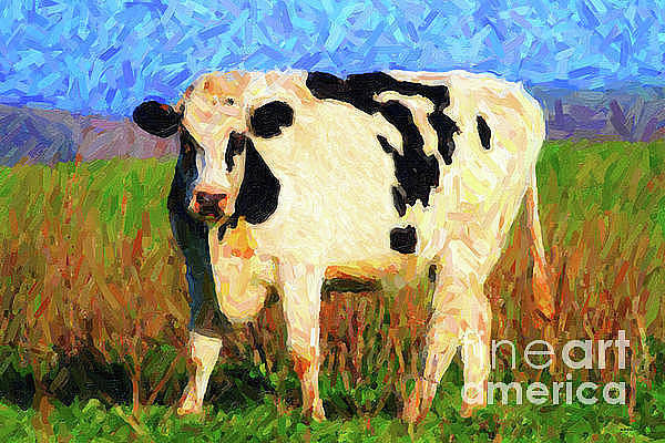 Photograph - Big Bull by Wingsdomain Art and Photography