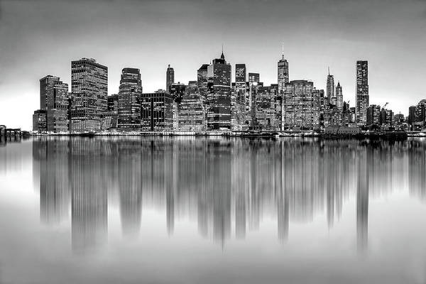 Photograph - Big City Reflections by Az Jackson