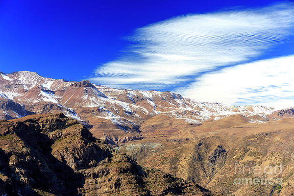 Photograph - Big Clouds Over The Andes In Chile by John Rizzuto