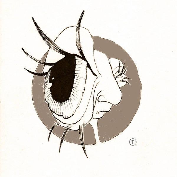 Drawing - Big Eye by Thomas Olsen