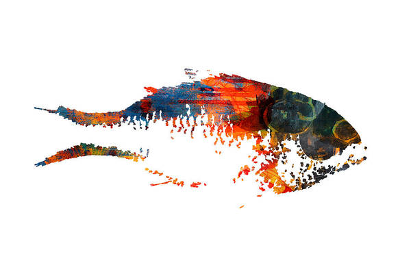 California Coast Digital Art - Big Fish by Nancy Merkle