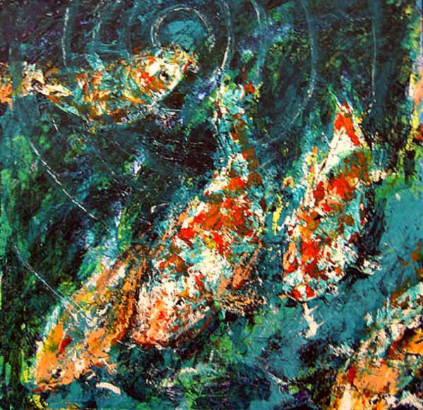 Painting - Big Fish by Thomas Lupari