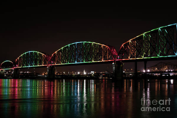 Photograph - Big Four Bridge 2215 by Andrea Silies