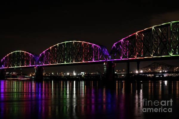 Photograph - Big Four Bridge 2219 by Andrea Silies