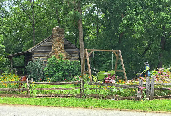 Photograph - Big Holly Cabin by Susan Leggett