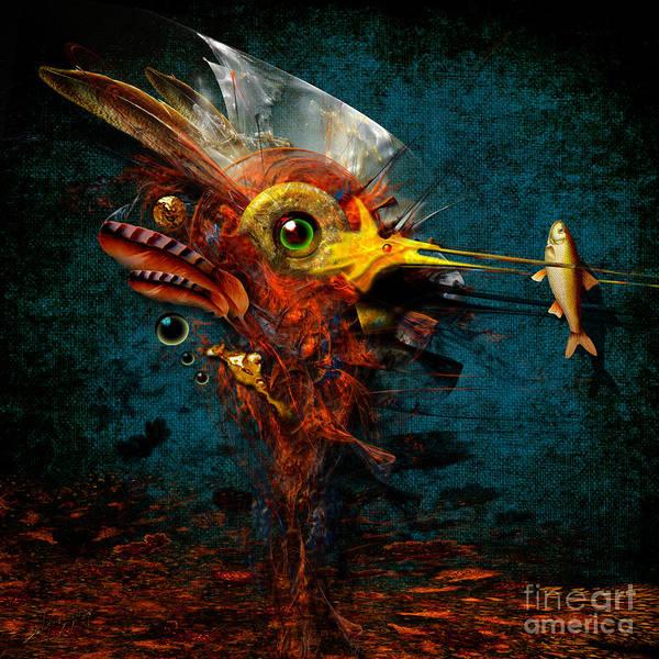 Painting - Big Hunter by Alexa Szlavics