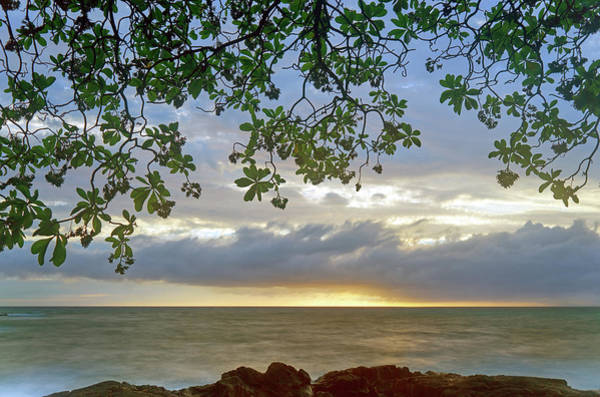 Photograph - Big Island Sunset by Christopher Johnson