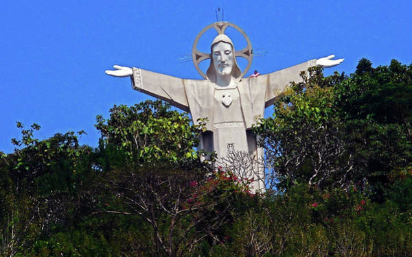 Vung Tau Photograph - Big Jesus 1 by Ron Kandt