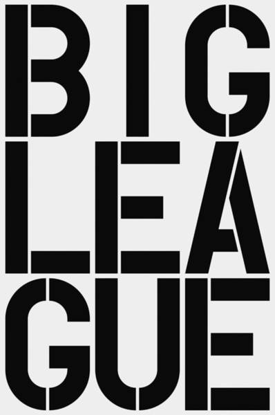 Wall Art - Painting - Big League by Three Dots
