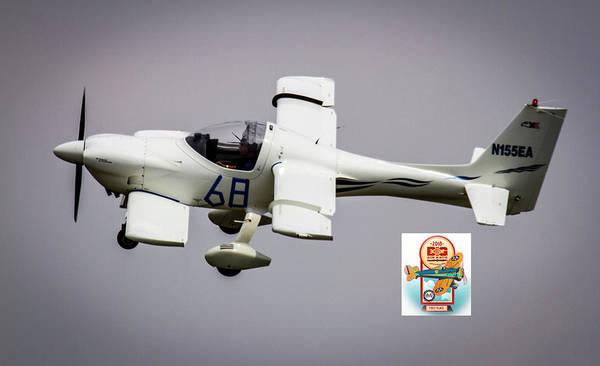 Photograph - Big Muddy Air Race Number 68 by Jeff Kurtz