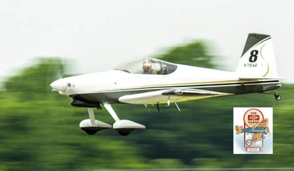 Photograph - Big Muddy Air Race Number 8 by Jeff Kurtz