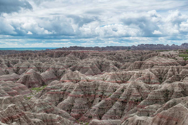 Art Print featuring the photograph Big Overlook Badlands National Park  by Kyle Hanson
