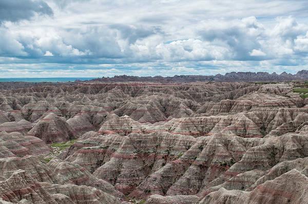 Big Overlook Badlands National Park  Art Print