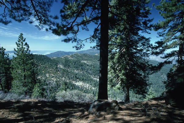 San Rafael Wilderness Photograph - Big Pine Mountain - San Rafael Wilderness by Soli Deo Gloria Wilderness And Wildlife Photography