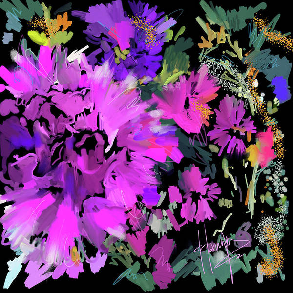 Big Pink Flower Art Print