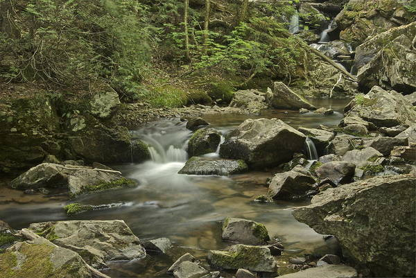 Marquette Photograph - Big Pup Falls 2 by Michael Peychich