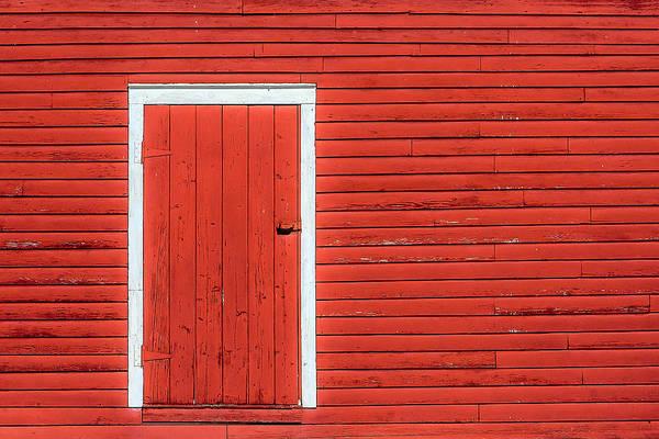 Photograph - Big Red Door by Todd Klassy