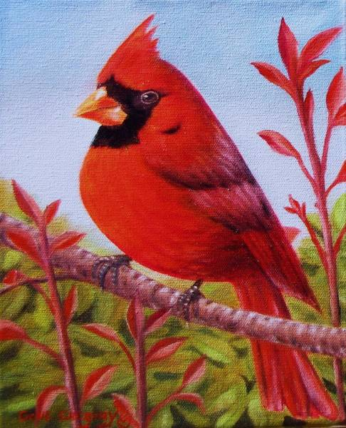 Painting - Big Red by Gene Gregory