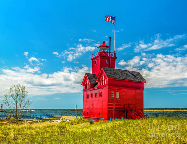 Photograph - Big Red In Holland by Nick Zelinsky
