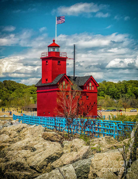 Photograph - Big Red Stands Watch by Nick Zelinsky