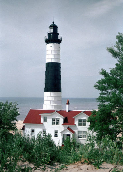 Photograph - Big Sable, Ludington, Michigan by Kenneth Campbell