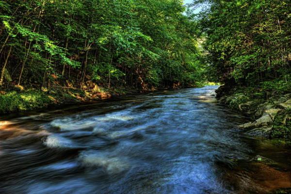 Photograph - Big Sandy Creek Blue Flow by Dale Kauzlaric