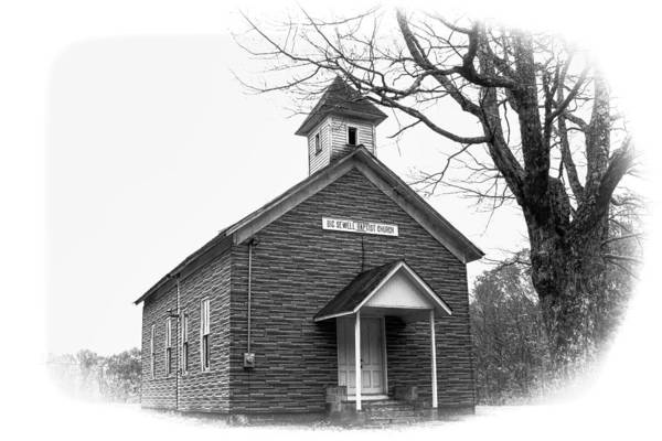 Photograph - Big Sewell Baptist Church by Ola Allen