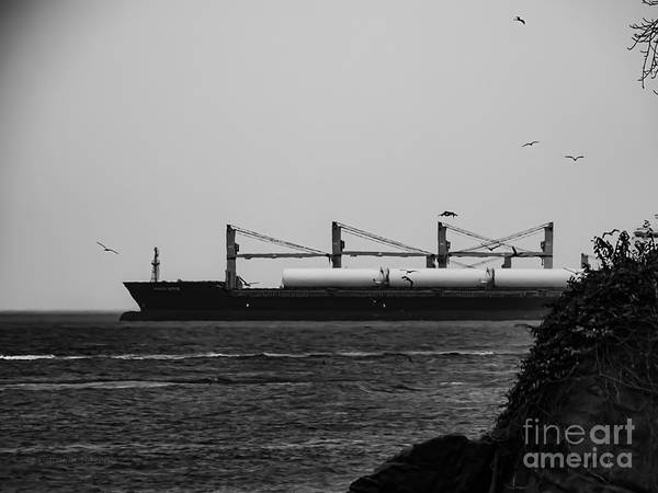 Big Ship Art Print