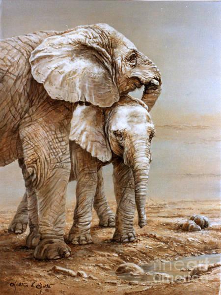 Big Sister Art Print by Kathleen  V  Butts