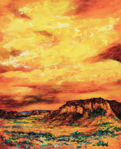 Painting - Big Sky At Capital Reef by Sally Quillin