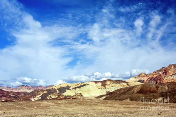 Photograph - Big Sky At Death Valley by John Rizzuto