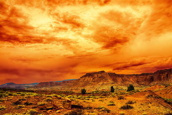 Photograph - Big Sky by Mike Stephens