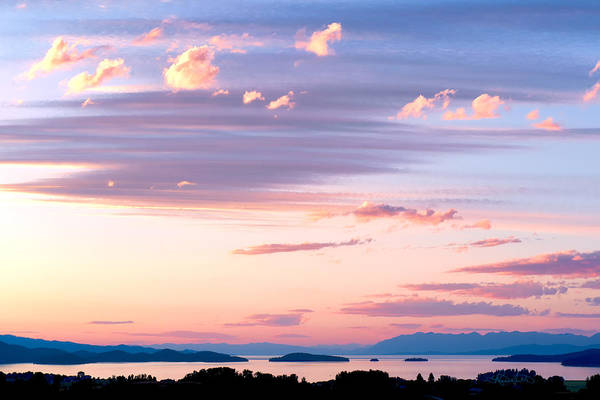Photograph - Big Sky Over Flathead Lake by Renee Sullivan
